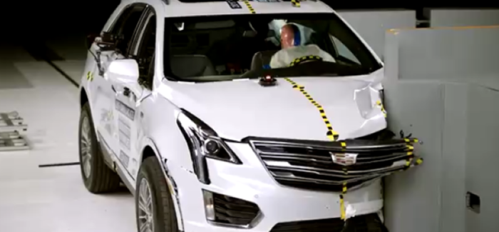 2017 Cadillac XT5 Crash Test – Video