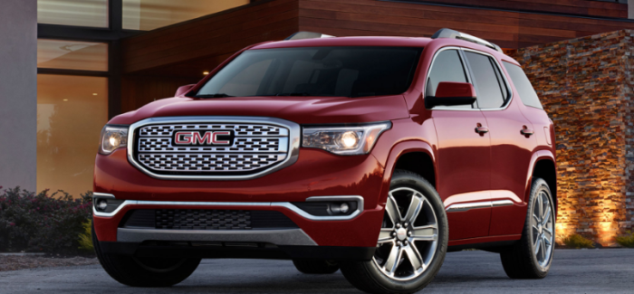 2017 GMC Acadia Denali – Video