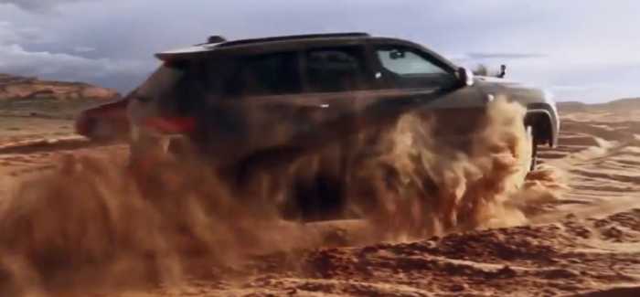 2017 Grand Cherokee Trailhawk Sand Dunes Off Roading – Video Dpccars