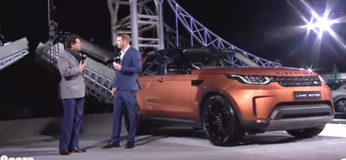 2018 Land Rover Discovery Unveiling – Video