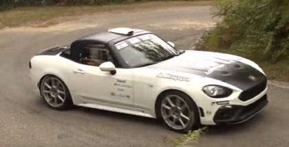 300HP Abarth 124 spider Group R-GT (1)