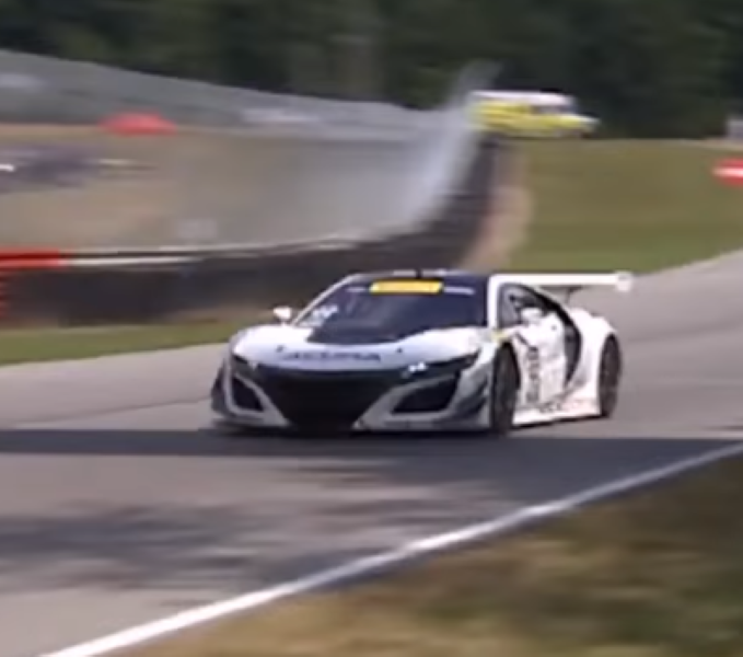 Acura NSX GT3 Getting Ready For 2017 Racing – Video