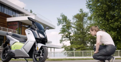 BMW C evolution Electric e Scooter Review (1)