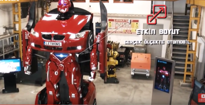 Creating The Real Life BMW Transformer (1)