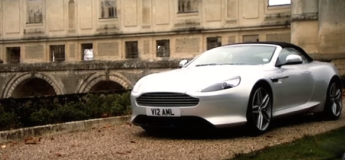 Fifth Gear Aston Martin Virage Volante Review – Video