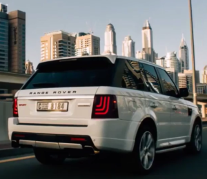 glohh dynamic tail lights on range rover sport video. Black Bedroom Furniture Sets. Home Design Ideas