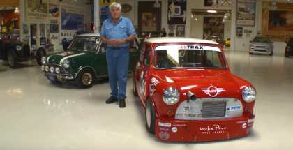 Jay Leno Bonneville Mini Cooper Review (1)