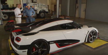 Jay Leno Koenigsegg One1 Review (1)