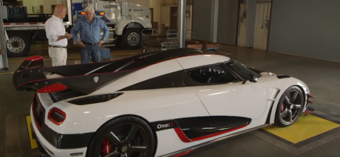 Jay Leno Koenigsegg One:1 Review – Video