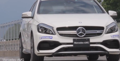 Mercedes AMG A45 Sportsland SUGO Race Track Time Attack