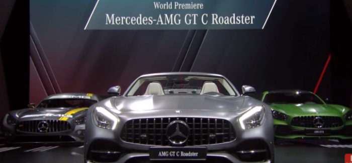 Mercedes AMG GTC Roadster And GTR Unveiling At Paris Motor Show – Video