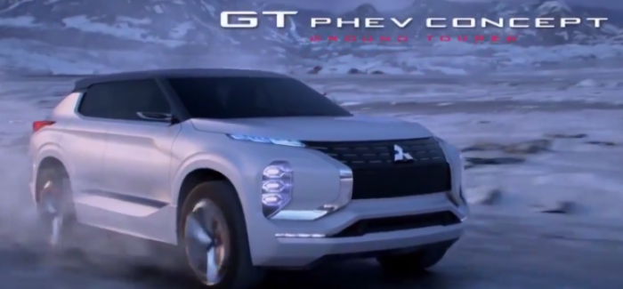 Mitsubishi GT PHEV CONCEPT – Video