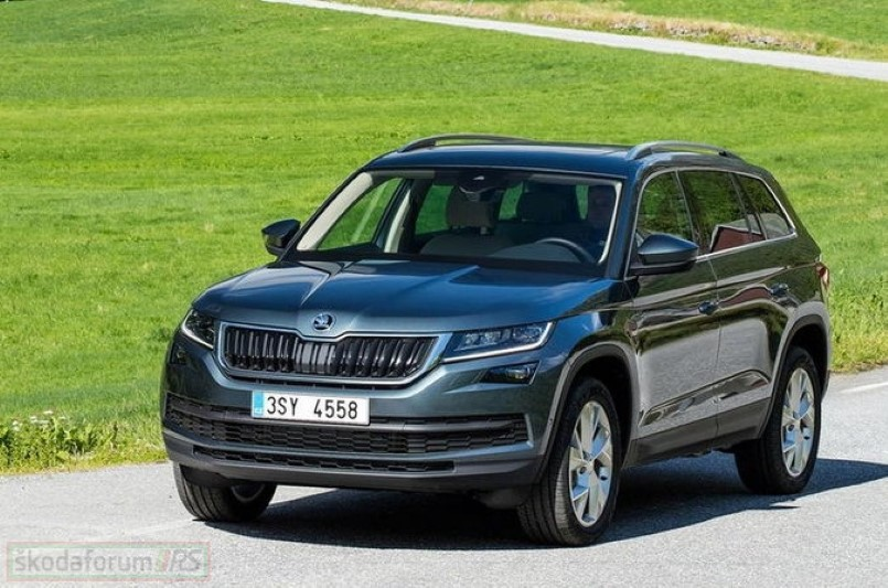 new skoda kodiaq suv photos leaked dpccars. Black Bedroom Furniture Sets. Home Design Ideas