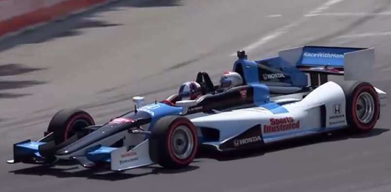 Ultimate Honda Racing Fans Go For A Indy Ride In A Two