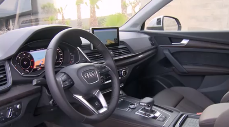 2017 audi q5 s line tdi basic model interior video dpccars. Black Bedroom Furniture Sets. Home Design Ideas