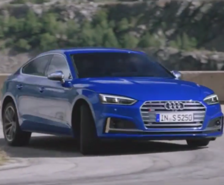 The new Audi S5 Sportback combines emotional design and functionality ...
