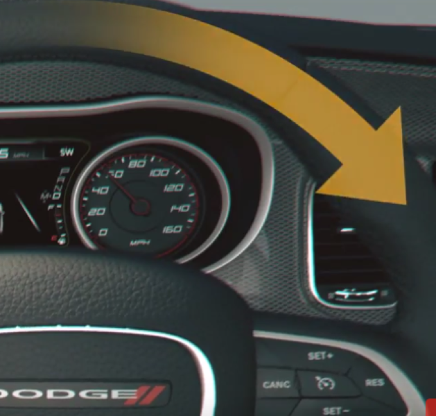 2017 Dodge Charger Lane Departure Warning System