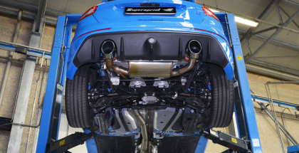 2017 Ford Focus RS Supersprint Exhaust System (1)