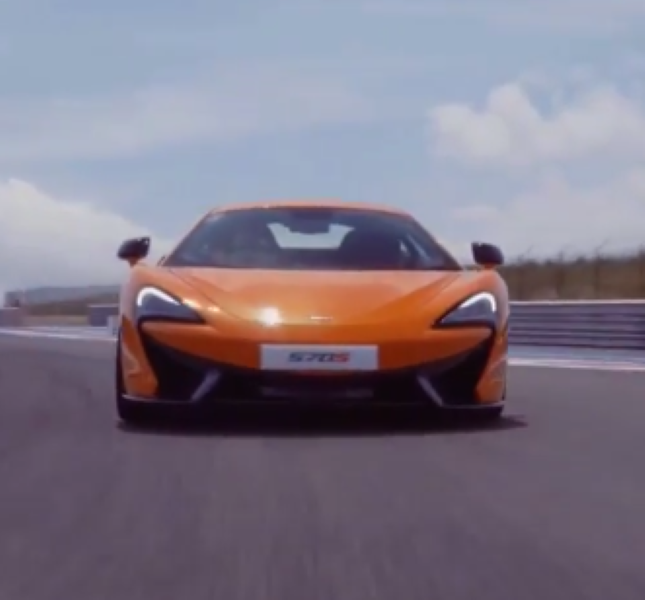 2017 McLaren 570S Driving Dynamics – Video