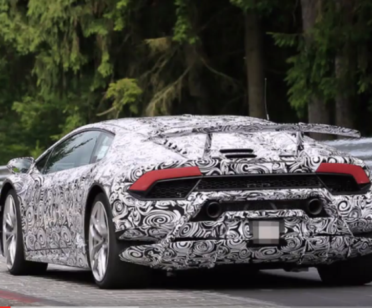2018 lamborghini huracan superleggera spied video dpccars. Black Bedroom Furniture Sets. Home Design Ideas