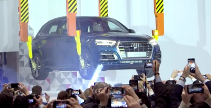 Audi Factory In Mexico Featuring the New 2017 Audi Q5  (1)