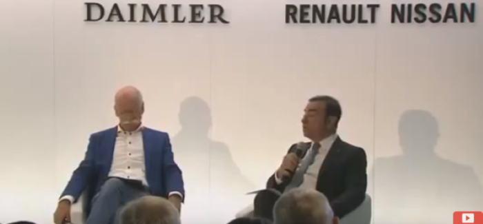 Dr. Dieter Zetsche and Carlos Ghosn Daimler & Nissan Press Conference – Video
