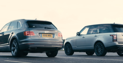 Drag Race - Bentley Bentayga vs Range Rover SVAutobiography (1)