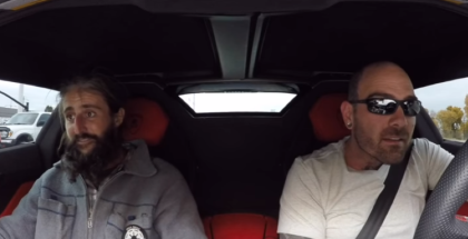 Lamborghini owner treats homeless man to lunch and shelter (2)