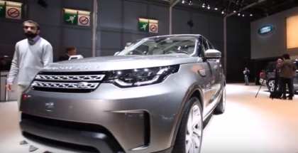 Land Rover Discovery On Display At Paris (1)