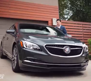 New Girl's Max Greenfield 2017 Buick LaCrosse Commercial (2)
