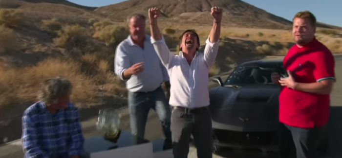 The Grand Tour With James Corden, Jeremy Clarkson, Richard Hammond, and James May – Video