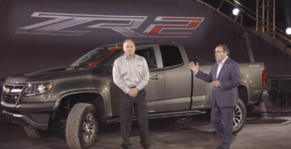 2017 Chevrolet Colorado ZR2 Unveiling and Test Drive