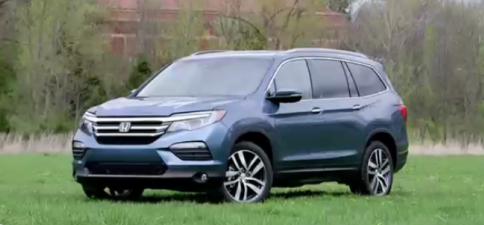 2017 Honda Pilot Elite Awd Video