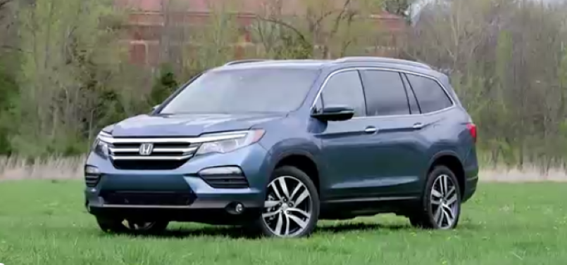 2017 honda pilot elite awd video dpccars