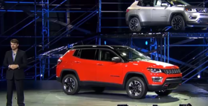 2017 Jeep Compass Unveiling