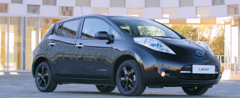 2017 nissan leaf black edition 30 kwh and 48 kwh dpccars. Black Bedroom Furniture Sets. Home Design Ideas
