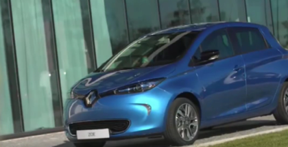 2017 Renault Zoe with new Z.E. 40 battery and Charging point