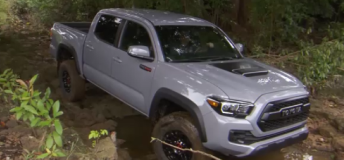 2017 Toyota Tacoma Trd Pro Off Road Test Drive Video