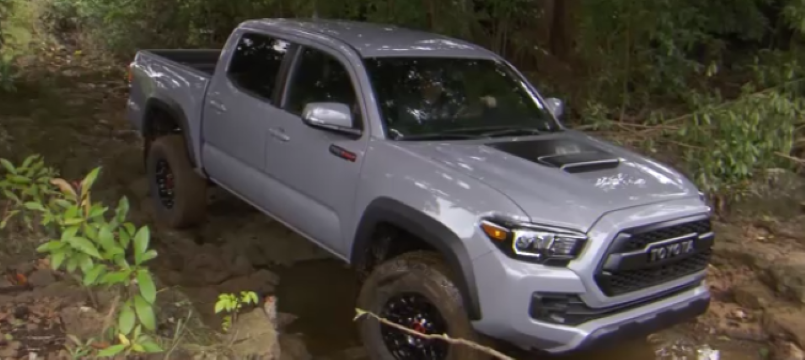 2017 toyota tacoma trd pro off road test drive video dpccars. Black Bedroom Furniture Sets. Home Design Ideas