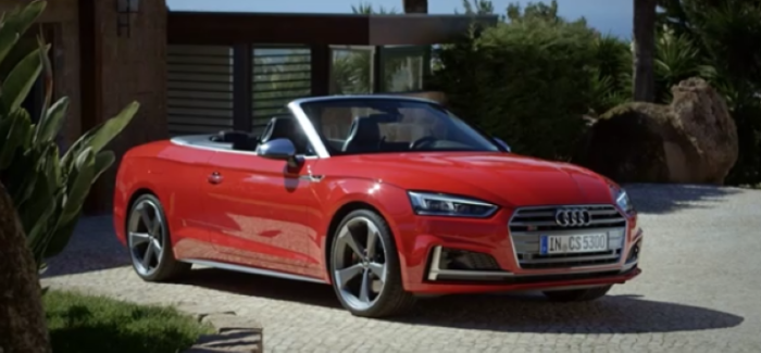 All New 2017 Audi S5 Cabriolet Video