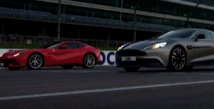 Fifth Gear - Ferrari F12 vs Aston Martin Vanquish (1)
