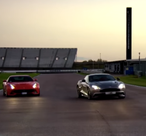 Fifth Gear - Ferrari F12 vs Aston Martin Vanquish (2)