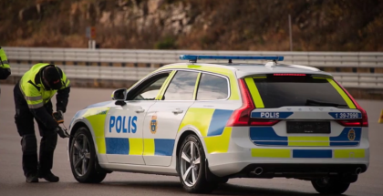 New 2017 Volvo V90 Will Be Used For Police Duty In Sweden