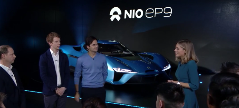 nextev nio ep9 with 1341 horsepower unveiling video dpccars. Black Bedroom Furniture Sets. Home Design Ideas