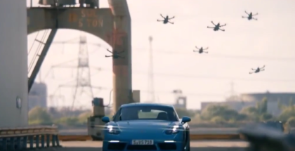 Race Drones vs 2017 Porsche 718 Cayman (1)