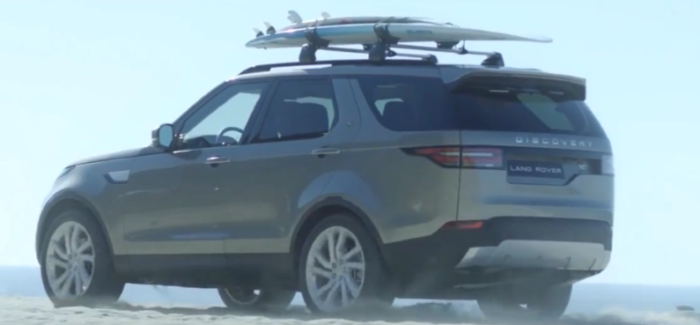 Surfing With 2017 Land Rover Discovery And Laird Hamilton Video