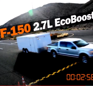 Towing Drag Race - Ford F 150 vs Dodge Ram vs Chevy Silverado (2)