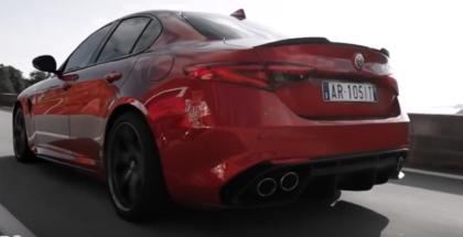 2017 Alfa Romeo Giulia Quadrifoglio Active Aerodynamic and Chassis Domain Control (1)