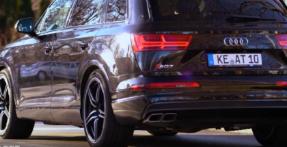 2017 Audi SQ7 ABT Exhaust Sound Control (1)