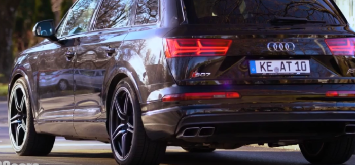 2017 Audi SQ7 ABT Exhaust Sound Control – Video